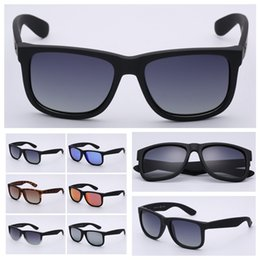 Lenses accessories online shopping - 4165 brand sunglasses justin model for man woman polarized UV400 lenses with original boxes packages accessories MMA2143