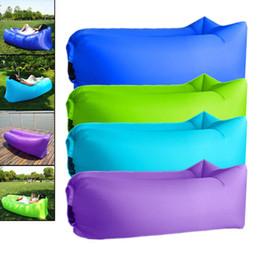$enCountryForm.capitalKeyWord NZ - Hot Sale Picnic Mat Beach Mat Inflatable Sofa Lazy bag air sofa bed moistureproof pad air lounger chair Outdoor Camping