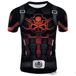 Stage Shirts Australia - Hot Avengers Alliance 4 Endgame Quantum War 3D Printed T-shirts Men Compression Shirt Iron man Cosplay Costume Long Sleeve Tops