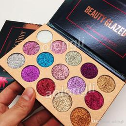 Best eye shadow kits online shopping - Best Beauty Glazed Glitter Eyeshadow Palette Colors Eye Shadow Palette Makeup Ultra Shimmer Face Cosmetics Kit