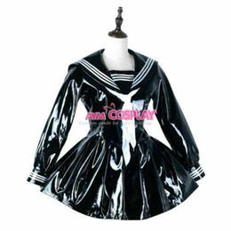 $enCountryForm.capitalKeyWord UK - heavy PVC japanese school Uniform dress cross dressers Tailor-made