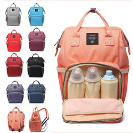 Discount diaper camp - 19 Colors Mommy Diaper Bags New Multifunctional Backpacks Fashion Mother Backpacks Maternity Backpacks Mommy Changing Ba