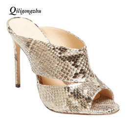 Discount flat pumps for women - Slipper Heels Shoes Fashion sandales sexy High Heels for Women Spring Summer Woman Sandals Pumps Shoes High Heel Female