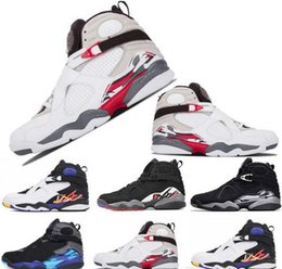5289bd5ac7bed2 Mens sneakers JUMPMAN 8 Basketball Shoes 8s Countdown Pack 23 shoes VIII  playoffs Aqua Chrome women Sports Designer Shoes trainers size 7-13