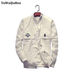 Summer Parka Australia - YuWaiJiaRen Brand-Clothing Men Jacket Spring Summer Men's Windbreaker Jackets Casual Coat Camouflage Jacket parka de verano homb