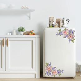 $enCountryForm.capitalKeyWord Australia - Decorative Butterfly Flower vine bathroom vinyl wall stickers home decoration wall decals for toilet sticker T