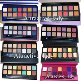 Chinese  In stock Makeup Perfect Eyeshadow Pink yellow black green Purple box 8 styles Matte Eyeshadow palette manufacturers