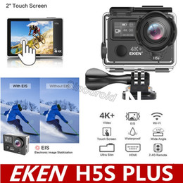 $enCountryForm.capitalKeyWord Australia - WiFi Control EKEN H5S Plus Action Camera HD 4K 30fps EIS 170 Wide Angle 30m waterproof 2.0' touch Screen sport camera Cheapest