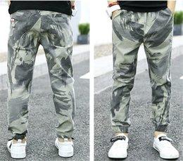 $enCountryForm.capitalKeyWord Australia - Camo Boys Pants Cotton Casual Sports Kids Trousers Children Jogger Pants Long Casual Camouflage Cuff Jogging Bottoms