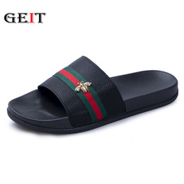 Discount new sandals styles - New Summer Slippers Men Couple Beach Sandals Fashion Outdoor Indoor Home Slippers Non-slip Floor Flip Flop Camouflage st