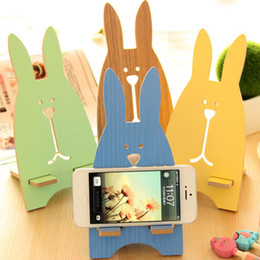 Desk paper holDers online shopping - Paper Universal Phone Holder Cute Rabbit Desk Stand for quot to quot Size Smartphones Small Tablet Multiple Color
