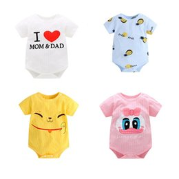 c95f32f0b Clothes i love mama papa online shopping - 2019 New Summer Newborn Baby  Jumpsuits Short Sleeve