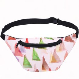 bum pack Australia - Waist Bag Women Individuality Personality Triangle Bum Bag Fanny Pack Money Phone Running Belt Single-Shoulder
