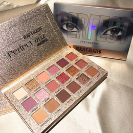 make makeup palette NZ - Brands Beauty 18 Color Makeup Eyeshadow Palette Nude Waterproof Glitter Pigment Smoky Eye Shadow Pallete 18Color Make Up Palette Free DHL