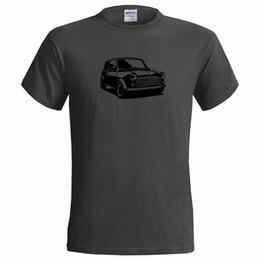 classic car s 2019 - Unofficial Stencil of a Mini Cooper Mens T Shirt Classic Car custom printed tshirt, hip hop funny tee, mens tee shirts c