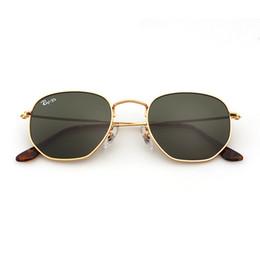 $enCountryForm.capitalKeyWord UK - Soscar Fashion Hexagonal Lenses Sunglasses New Arrival Brand Designer Sunglasses for Men Women Metal Frame Glass Lens UV400 High Quality