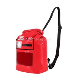 Emergency Packs Australia - 8L Roll Top Waterproof Emergency Empty First Aid Kit Dry Stuff Sack Pouch Shoulder Bag for Outdoor Camping Kayak Rafting Travel #138183