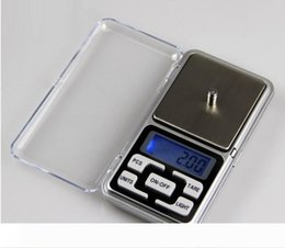 digital herb scale Australia - Digital Scales Digital Jewelry Scale Gold Silver Coin Grain Gram Pocket Size Herb Mini Electronic backlight 100g 200g 500g