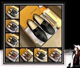 Real Fur Shoes Australia - Hot Leather Men Sandals waterproof Brand Flats Shoes Korean Version Daily Breathable Feet Lazy Casual Real Less shoes big size 38-46