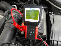 Tool Digital Canada - Lancol MICRO-468 Automobile Battery Analyzer Conductance Tester Portable 12V Auto Digital CCA Battery Measuring Instrument Tool