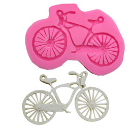 Discount bicycle cake - Bicycle Silicone Cake Mould Bicycle Turning Sugar Liquid Cake Chocolate Mold Mould DIY Decorating Tool Baking Tools