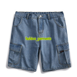 a1eaf20204c1 Jeans shorts online shopping - Brand New Denim Shorts Mens Summer Casual  Loose Straight Shorts Trend