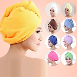 $enCountryForm.capitalKeyWord Australia - Microfiber Bath Towels Hair Towel Dry Hat Cap Quick Drying Lady Bath Tool Bathroom new products #4A26