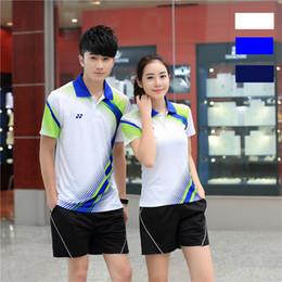 Sportswear T Shirt Badminton Australia - I6 YON EXX Badminton Suit Sportswear for Men and Women Short Sleeve T-shirt for Leisure Running Basketball casual wear Table tennis Y36159
