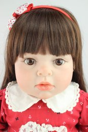 sold silicone dolls 2019 - New design hot -selling lifelike reborn toddler doll soft silicone vinyl real gentle touch 28inches cheap sold silicone
