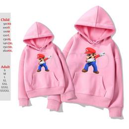 $enCountryForm.capitalKeyWord NZ - Dabbing Super Mario Hoodies Women Men Long Sleeve Sweatshirt Kids Hip Hop Tracksuit Fleece Warm Outwear Hoodie Sweatshirt