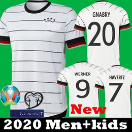 germany away soccer Canada - Germany Euro 2020 soccer jerseys Home Away kit men kids set HUMMELS KROOS DRAXLER REUS MULLER GOTZE European Cup football shirt uniforms