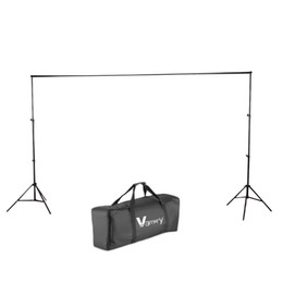 Fast Shipping 6.56*9.84feet (2*3M) Backdrop Support Stand Set Black one set free shipping from US warehouse (UPS, Fedex and USPS randomly)