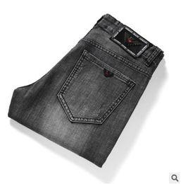 $enCountryForm.capitalKeyWord Australia - Hot Sale Mens Designer Men's trousers Stretch jeans cotton straight pants Slim Cowboy Famous classic jeans h5642