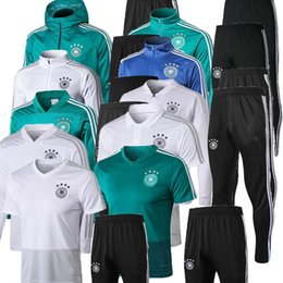 Germany tracksuit online shopping - 18 DRAXLER Werner football jacket Maillot de Foot germany Survetement Football Chandal Soccer Tracksuit Training suit jackets kits