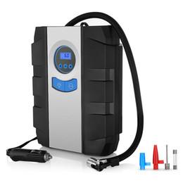 $enCountryForm.capitalKeyWord Australia - Portable Air Compressor Pump For Car Tires, Auto Digital Tire Inflator With Gauge 150 Psi 12V 3 High-Air Flow Nozzles And Adap