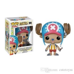 one piece mini figures UK - GOOD GOOD DHL Fast ship Funko POP One Piece - TONYTONY CHOPPER Vinyl Action Figure With Box #233 Popular Toy Gift Good Quality