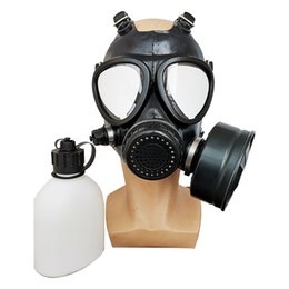 face safety mask NZ - MF 11Gas Mask Full Face Protection Pesticide Formaldehyde Toxic Gas Anti-Virus Activated Carbon Filter Industrial Military Safety Respirato