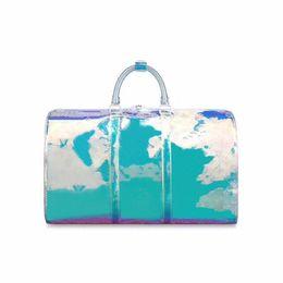 $enCountryForm.capitalKeyWord UK - best Quality 2019men women luxury designer travel luggage bag men totes keepall pvc clear bags women duffle bag size 50*23*29 Free shipping