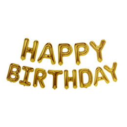 "$enCountryForm.capitalKeyWord Australia - 16 inch ""Happy Birthday"" Alphabet suit Decorations for birthday party Various colours are available"