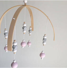 $enCountryForm.capitalKeyWord NZ - INS Nordic Style Wooden Beads Wind Chimes for Kids Room Baby Bed Hanging Wind Bell Newborn Gifts Nursery Decor Photography Props