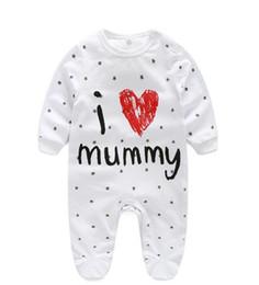 c90769258 Bebé recién nacido Body Girl Clothes Baby Girl Boy Mameluco de algodón de  manga larga Unisex Ropa infantil Bebé Niños Cómodos