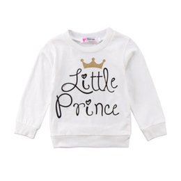 30814d081 Family Letter Printed Clothing Kid Boys Girls Prince and Princess Long Sleeve  T-Shirt Sweatershirts