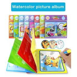 $enCountryForm.capitalKeyWord Australia - Water Painting Graffiti Book Kids Education Cognitive Toys Gifts New Water Painting Drawing Book