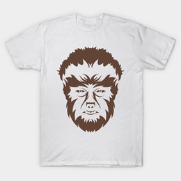 wolves tshirt Australia - The Wolf Man T Shirt Werewolf tshirt universal monsters frankenstein dracula scary lon chaney jr wolfman monster halloween film