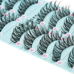 $enCountryForm.capitalKeyWord Australia - 10 Pairs set Makeup 3d False Eyelashes Soft Long Cross 2019 Lashes Fake Lashes Extension Make Up Tools