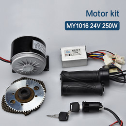 electric bike motor controllers Australia - 250W 24V DC Brushed Motor Kit 24V Controller 65T Tooth e bike Conversion Kit Bicicleta Electrica Electric Bike Escooter Kit