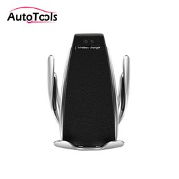 Discount accessories for s5 - Wireless Car fast Charger S5 Fast Charging Phone Holder Mount 10W car accessories for air vent via free shipping