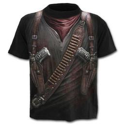 $enCountryForm.capitalKeyWord Australia - 2019 HOT GO New Stylish 3D Military Tool Gun Printed Men's T-shirt Short Sleeve Summer Tees