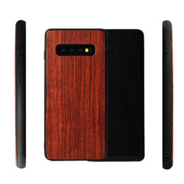 engraved phone Canada - Hot New Wood Phone Case For Samsung Galaxy S10 plus S10 S10E Natural Bamboo Wooden Custom Back Cover Engraving Wood For Iphone XS 7 6 XR