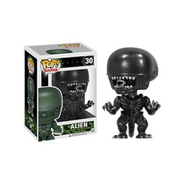 Aliens Action Figures Australia - LOW price Adorable Funko Pop Movies Alien Vinyl Action Figure With Box #30 Popular Collectible Doll Toy Good Quality